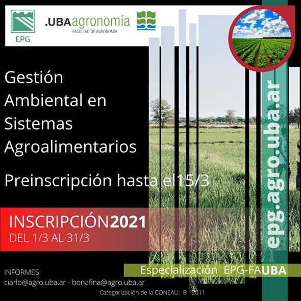 Especialización UBA