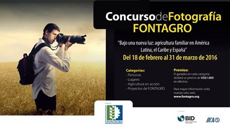 Fontagro lanza concurso de fotograf a 2016 fontagro for Concurso para profesores 2016